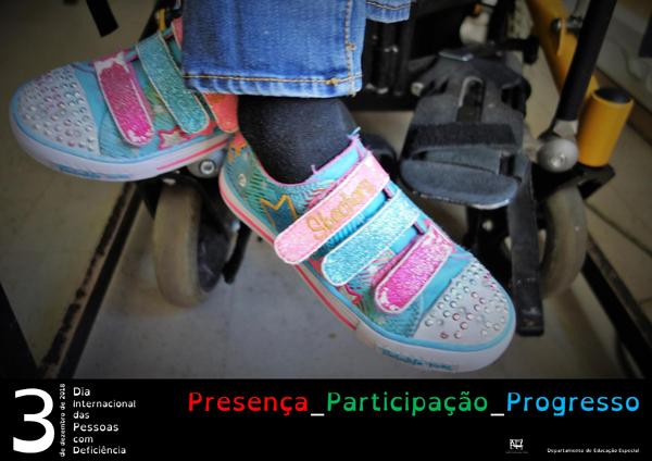 Comemoração do Dia Internacional das Pessoas com Deficiência